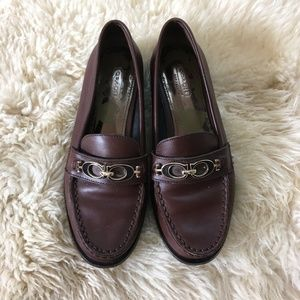Coach Mahla Womens Shoes Size 6 B Brown Loafer